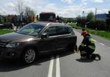 DK 75. Suzuki SX4 cross i volkswagen tiguan rozbiły się w Bilsku [ZDJĘCIA]