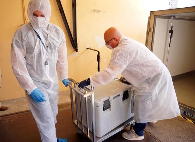 Raport dotyczący pandemii koronawirusa na Podkarpaciu.