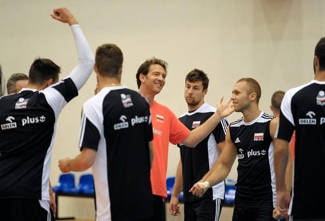 W Arłamowie trwa zgrupowanie reprezentacji Polski siatkarzy. Treningi są otwarte dla publiczności.