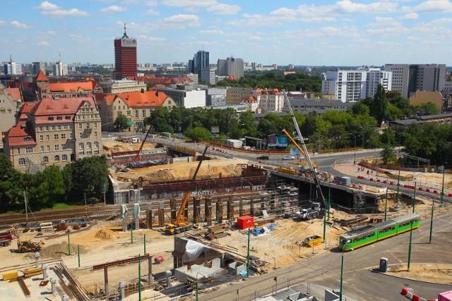 Przebudowa ronda Kaponiera w Poznaniu