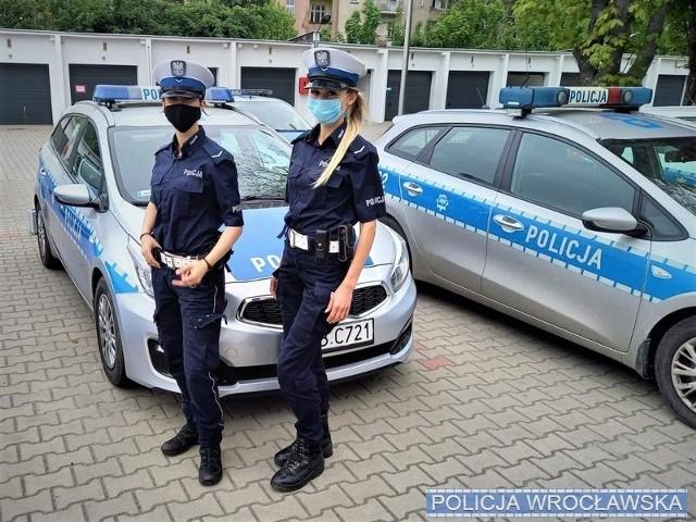 Policjantki z wrocławskiej drogówki pomogły rodzącej kobiecie