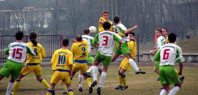 IV liga, marzec 2005: Bolesław Bukowno - Dalin Myślenice