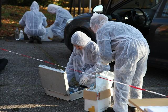 Uczniowie Zespołu Szkół Techniczny w Skwierzynie mieli nietypowe zajęcia z policjantami.