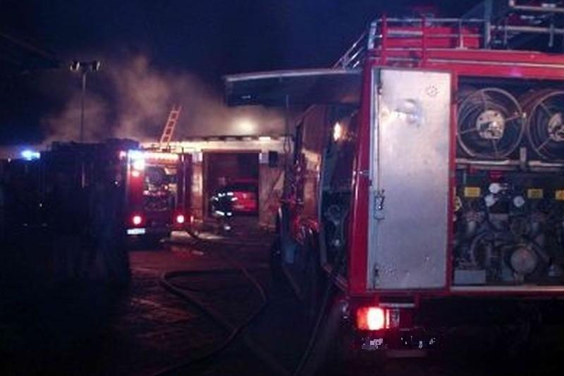 Stare Berezowo. Pożar wybuchł dziś po godz. 2. (zdjęcie ilustracyjne)