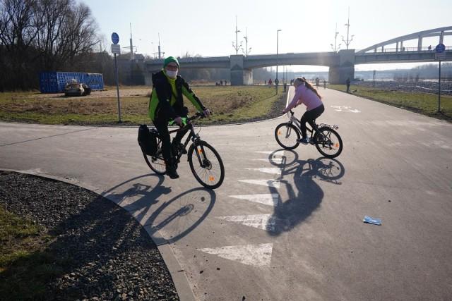 Nowy rekord rowerzystów na Wartostradzie