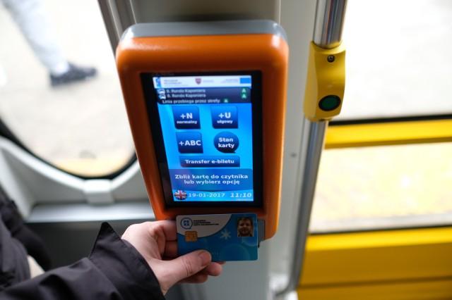 Karty nie zarejestrował żaden z czytników w autobusie
