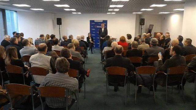 Tomasz Siemoniak na spotkaniu w Gdańsku