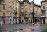 Ulica Krakowska prawie gotowa, ale tak na prawdę nie wiadomo, kiedy pojadą nią auta [NOWE ZDJĘCIA]
