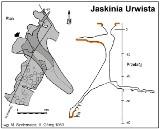 Trup w Jaskini Urwistej na Jurze koło Olsztyna. W poniedziałek sekcja zwłok [SCHEMAT JASKINI]