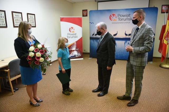 Spotkanie Kazika Józefowicza ze starostą toruńskim Markiem Olszewskim