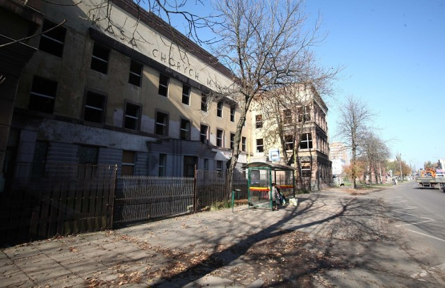 Zabytkowy szpital Heleny Wolf wciąż stoi pusty