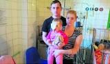 Rodzina zbiera na operacje Amelki pogryzionej przez psy. Dziewczynka straciła nos i część twarzy