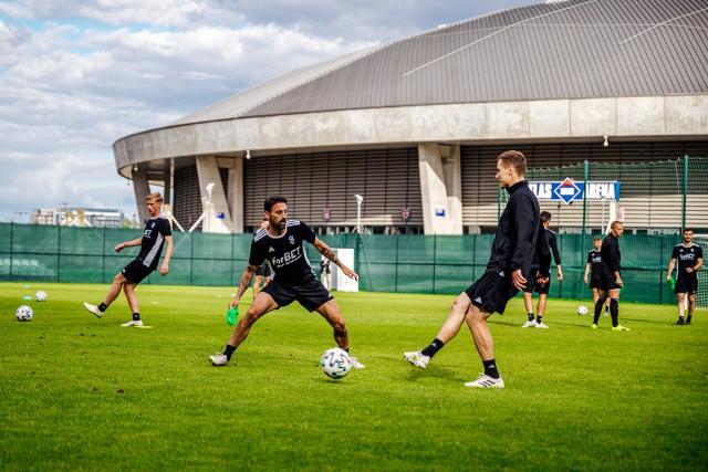 ŁKS trenuje przed meczem z Arką Gdynia