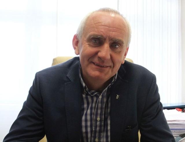Mirosław Malinowski jest prezesem Świętokrzyskiego Związku Piłki Nożnej od 2000 roku.