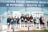 Reprezentanci Towarzystwa Pływackiego Zielona Góra na podium mistrzostw Polski juniorów młodszych stawali najczęściej