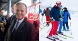 Prezydent na nartach w Wiśle. Donald Tusk z przekąsem o zimowym wyjeździe Andrzeja Dudy