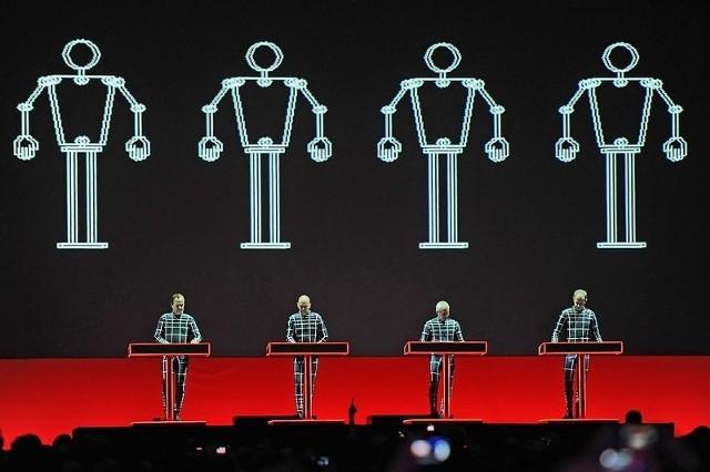 Koncert Kraftwerk w Poznaniu.