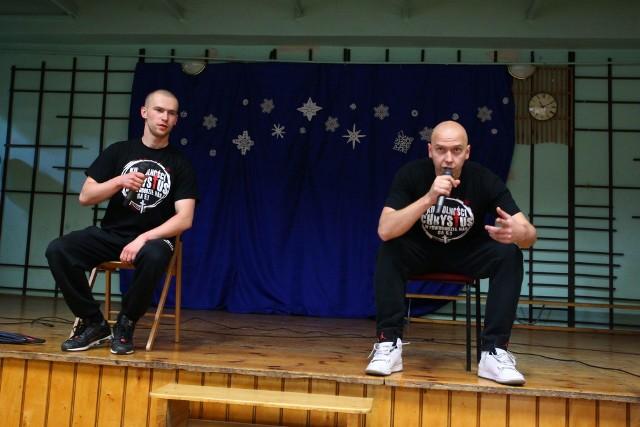 """Z programem """"Ku wolności"""" hip-hopowa grupa """"Wyrwani z Niewoli"""" odwiedziła kilkaset miejsc w kraju, w tym Lublin"""