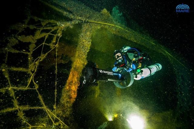 Jedna z ekspedycji Fundacji MARE do wraku tankowca Franken