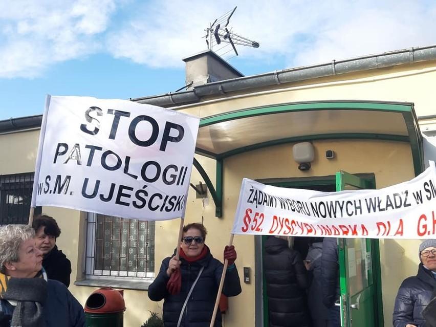 """Do Spółdzielni Mieszkaniowej """"Ujeścisko"""" wszedł komornik i prokurator. W marcu lustracja spółdzielni"""
