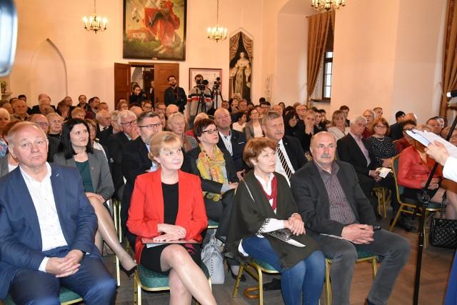 Tak wyglądało otwarcie ostatniej edycji Konkursu Chopinowskiego w Szafarni zorganizowane na zamku w Golubiu-Dobrzyniu - w 2019 roku