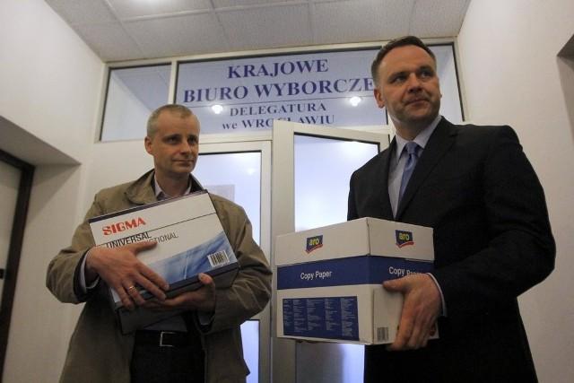 Piotr Babiarz i Dawid Jackiewicz