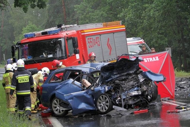 Miejsce tragicznego wypadku, do którego doszło 3 lipca