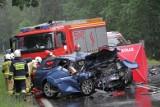 Po tragicznym wypadku w Stalowej Woli. Zamknęli drogę, odtworzyli wypadek. Był eksperyment procesowy