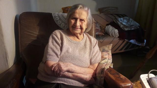 Maria Olszowska 15 września skończy 109 lat. Mieszka z córką w sedesowcu przy pl. Grunwaldzkim.