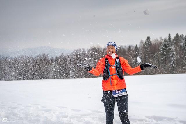 Zimowy Maraton Bieszczadzki – bieszczadzka magia w natarciuZobacz kolejne zdjęcia. Przesuwaj zdjęcia w prawo - naciśnij strzałkę lub przycisk NASTĘPNE