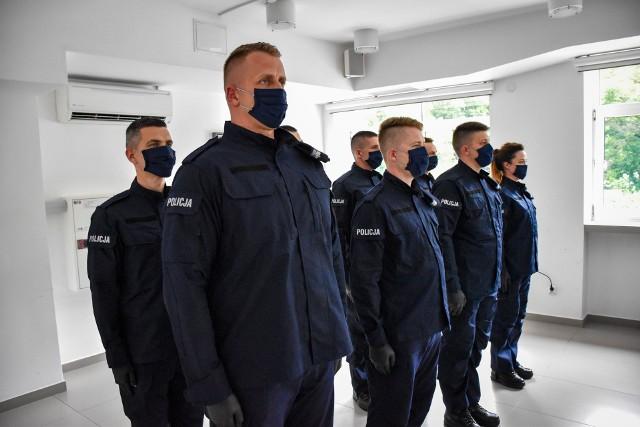 Komenda Miejska Policji w Białymstoku ma nowych funkcjonariuszy