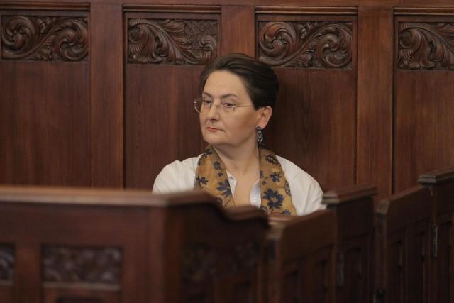 Joanna Jaśkowiak została uznana winną użycia nieprzyzwoitych i wulgarnych słów podczas strajku kobiet