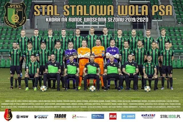 Zdjęcie pierwszego zespołu Stali Stalowa Wola