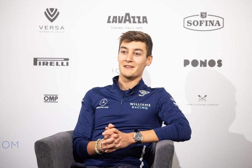 George Russell to mistrz Formuły 2 w 2018 r. W barwach...