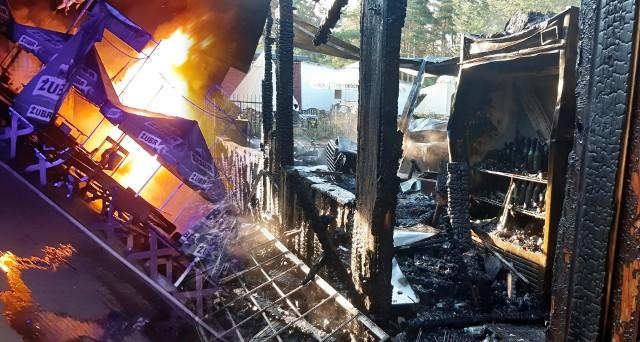 W pożarze nikt nie ucierpiał, ale wiele osób w chwilę straciło źródło utrzymania. Trwa zbiórka na odbudowę smażalni ryb i baru w Pieczyskach pod Bydgoszczą