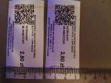 Biletomat w autobusie łódzkiego MPK wydrukował bilet zbyt szeroki. W efekcie biletu nie można było skasować - nie pasował  do kasownika