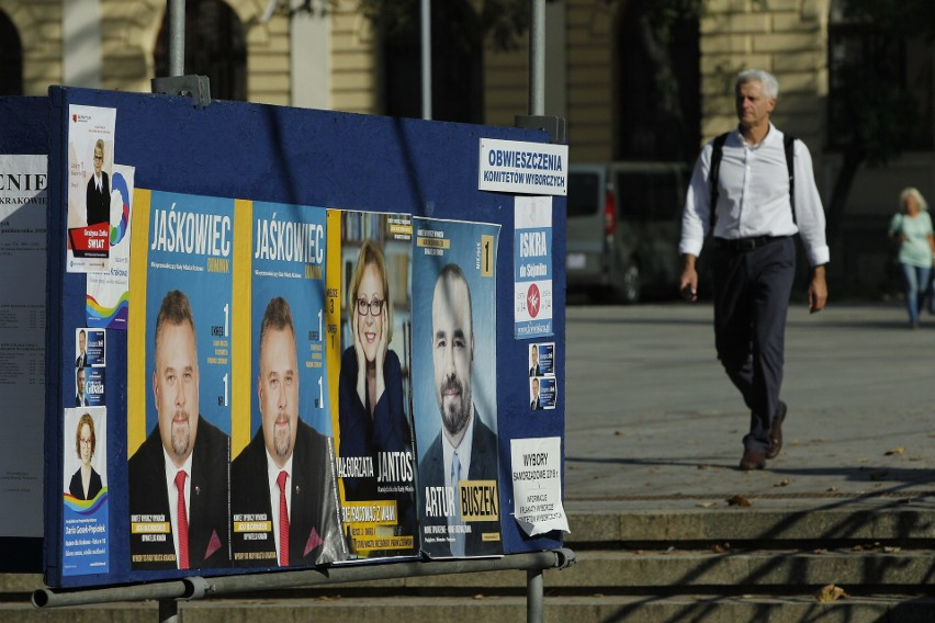 Wybory Samorządowe 2018 W Małopolsce Bitwa Na Plakaty