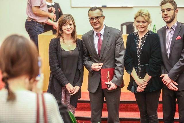 Nowego rektora GUMed 382 elektorów obecnych na jednej z  uczelnianych sal dydaktycznych wybierało w dwóch turach