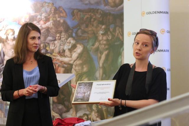 Album ze zdjęciami fresków Kaplicy Sykstyńskiej można oglądać do 14 sierpnia w lubelskim oddziale Goldenmark.