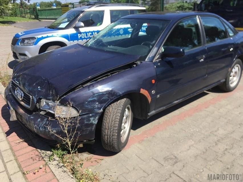 Wypadek na ul. Budowlanych w Opolu.