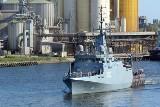 ORP Albatros - drugi z serii trzech nowoczesnych niszczycieli min dla Marynarki Wojennej RP na próbach morskich