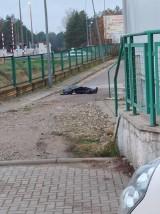 Białystok. Martwy 53-latek za sklepem przy ul. Paderewskiego. Są wstępne wyniki sekcji zwłok (zdjęcia)