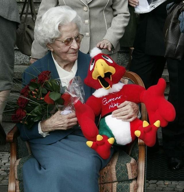 Mój nieprofesjonalny fotoreportaz z jubileuszowej uroczystości 100-lecia urodzin pani Heleny KuLmickiej.