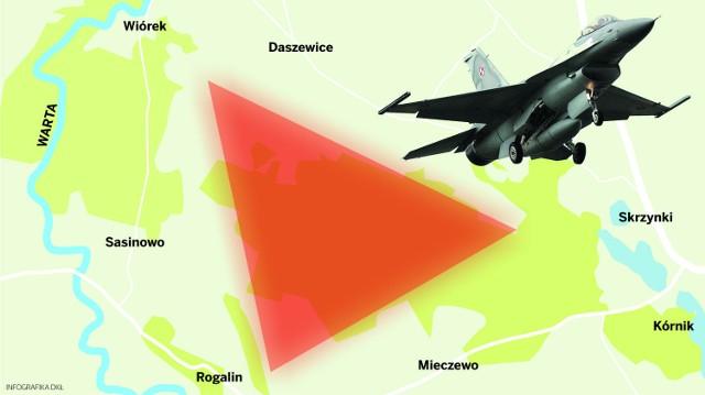Strefa zrzutu F16. Wojewoda weźmie na warsztat skargi mieszkańców