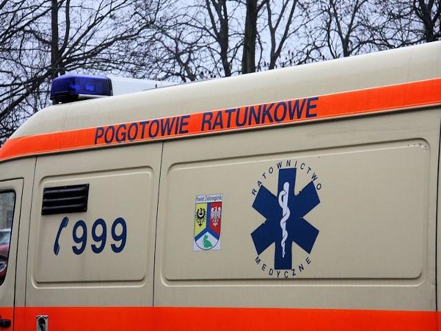 55-letni pracownik trafił już do szpitala.