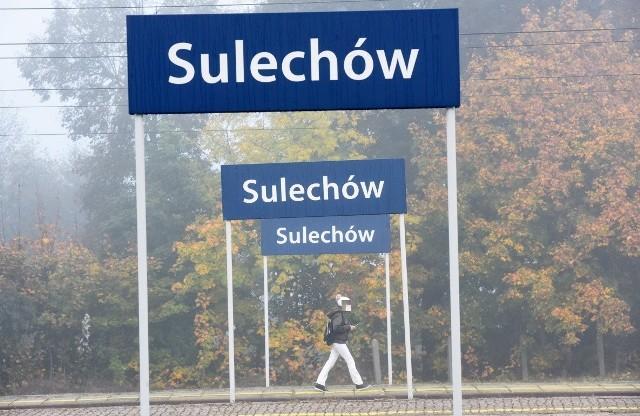 Dworzec PKP w Sulechowie - jesień 2019