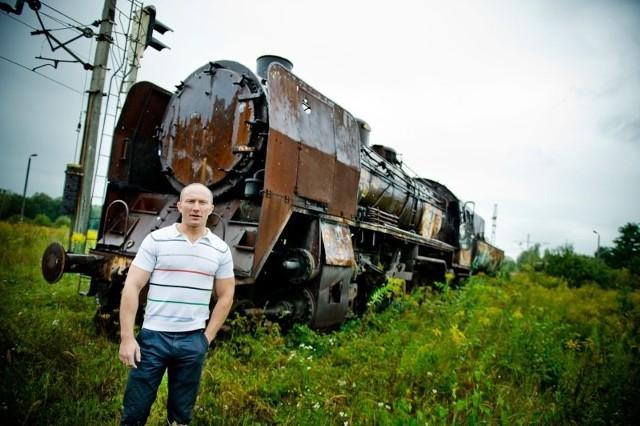 Roman Gołębiowski przyznaje, że dla tej ciuchci powinno się znaleźć inne miejsce.