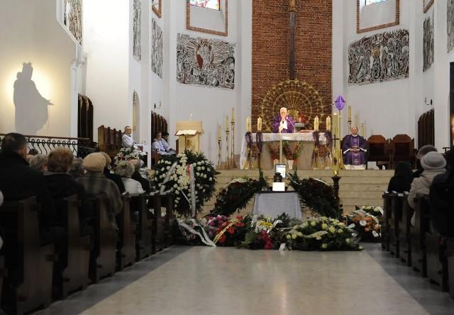 Pogrzeb Danuty Wielochy z Radomia.