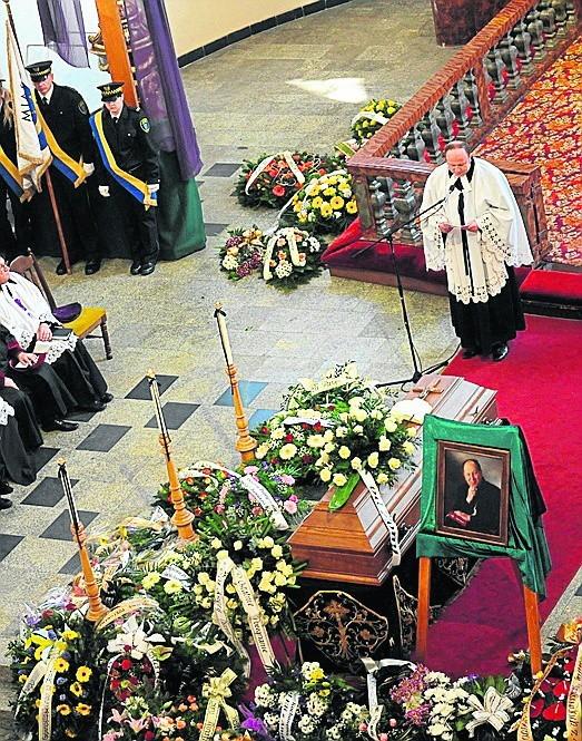 Pogrzeb ks. Jana Grossa w kościele Jezusowym