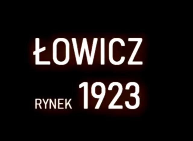 Jeden z internautów udostępnił nam niesamowity film. To unikalne zdjęcia z łowickiego rynku z 1923 r. Zobaczcie sami, jak wyglądał Łowicz 95 lat temu.
